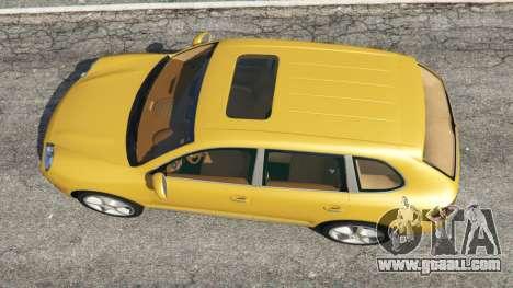 Porsche Cayenne Turbo 2003 for GTA 5