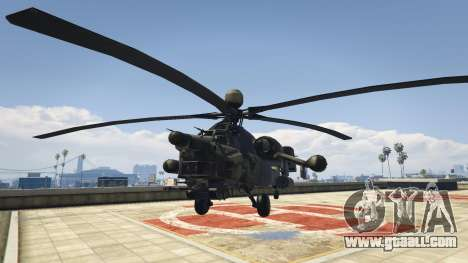 GTA 5 Mi-28 Night hunter