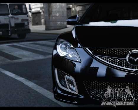 Mazda 6 Sport for GTA 4 right view