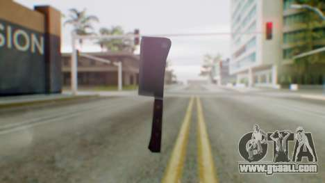 Vice City Meat Cleaver for GTA San Andreas second screenshot