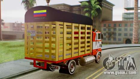 Ford 9000 Con Estacas Stylo Colombia for GTA San Andreas left view