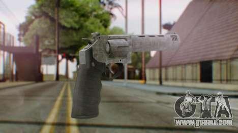 GTA 5 Platinum Revolver for GTA San Andreas second screenshot