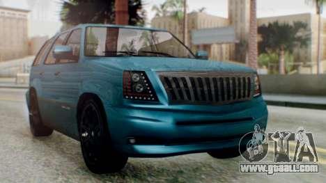 GTA 5 Albany Cavalcade II IVF for GTA San Andreas