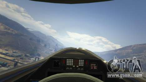 GTA 5 Chengdu J-20 fifth screenshot