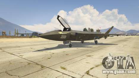 Chengdu J-20 for GTA 5