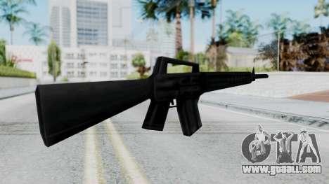 GTA 3 M16 for GTA San Andreas second screenshot