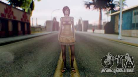 Fatal Frame 4 Ruka for GTA San Andreas second screenshot