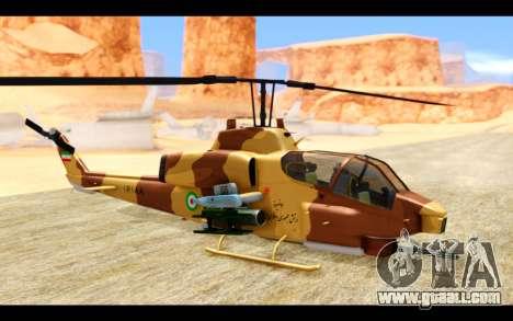 AH-1W IRIAF SuperCobra for GTA San Andreas