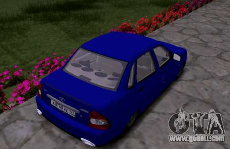VAZ 2170 KBR for GTA San Andreas right view