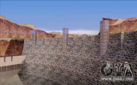 New dam for GTA San Andreas sixth screenshot