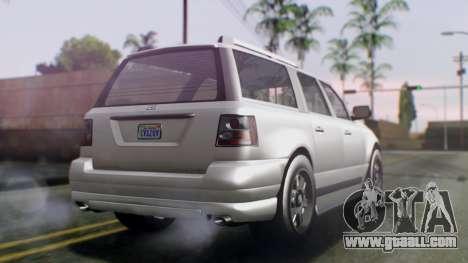 GTA 5 Dundreary Landstalker IVF for GTA San Andreas left view