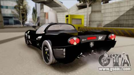 Ferrari P7-2 Shadow for GTA San Andreas left view