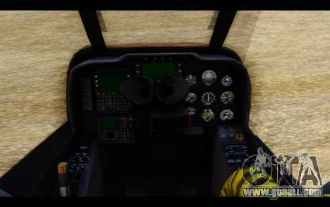 AH-1W IRIAF SuperCobra for GTA San Andreas right view