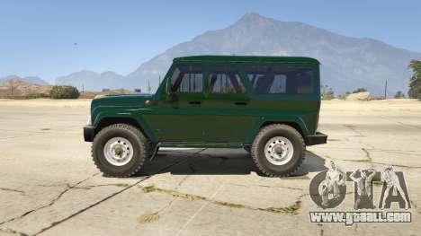 УАЗ 3159 Porpoising for GTA 5