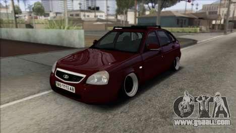 Lada Priora Ukrainian Stance for GTA San Andreas