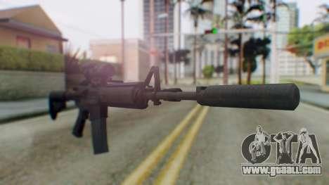 Arma Armed Assault M4A1 Aimpoint Silenced for GTA San Andreas
