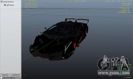 GTA 5 2013 Lamborghini Veneno HQ EDITION right side view