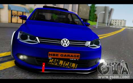 Volkswagen Jetta for GTA San Andreas back view