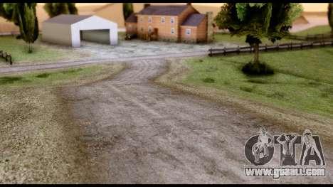 New HD Roads for GTA San Andreas third screenshot
