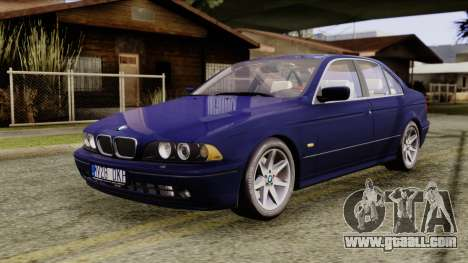 BMW 530D E39 2001 Stock for GTA San Andreas right view