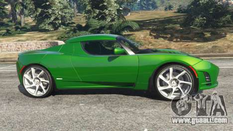 GTA 5 Tesla Roadster Sport 2011 left side view