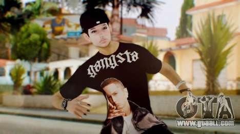 Skin Swagger Sasuke Uchiha for GTA San Andreas
