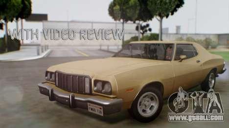 Ford Gran Torino 1974 for GTA San Andreas