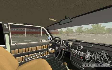 VAZ 2103 Sport tuning for GTA San Andreas interior