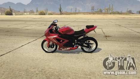 GTA 5 Suzuki Srad 750 left side view