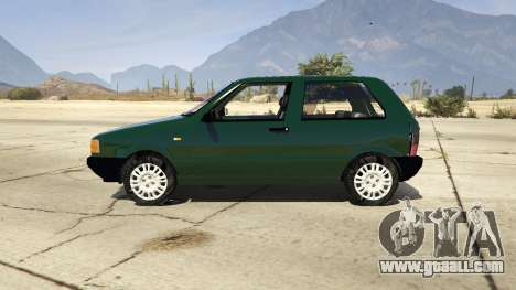 GTA 5 Fiat Uno 1995 left side view