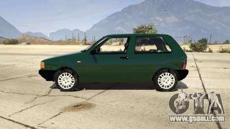 Fiat Uno 1995 for GTA 5