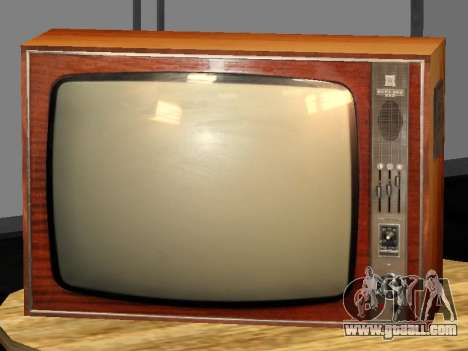TV Birch-212 for GTA San Andreas second screenshot