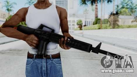 GTA 3 M16 for GTA San Andreas third screenshot