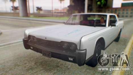 GTA 5 Vapid Chino Tunable PJ for GTA San Andreas back view