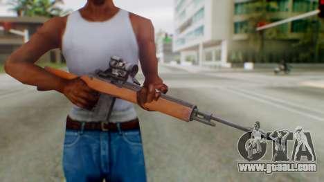Arma2 M14 Assault Rifle for GTA San Andreas third screenshot