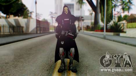 Reaper - Overwatch for GTA San Andreas second screenshot