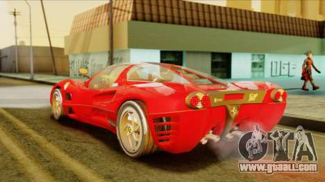 Ferrari P7 Coupè for GTA San Andreas left view