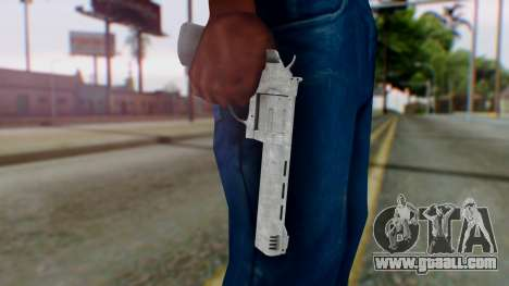 GTA 5 Platinum Revolver for GTA San Andreas third screenshot