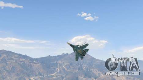 GTA 5 Su-33 fourth screenshot