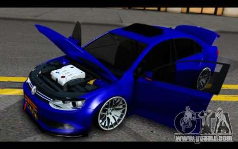 Volkswagen Jetta for GTA San Andreas side view
