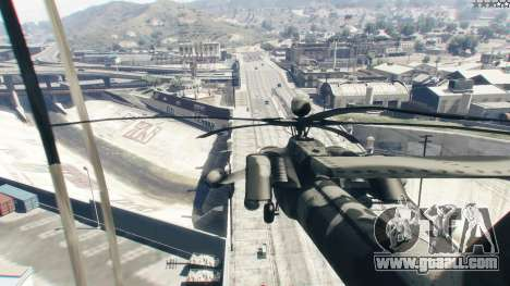 GTA 5 Mi-28 Night hunter fifth screenshot