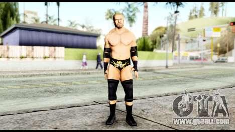 WWE Triple H for GTA San Andreas second screenshot
