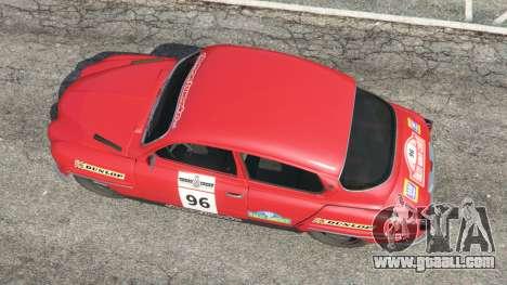 GTA 5 Saab 96 [rally] back view