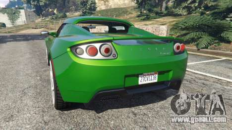 GTA 5 Tesla Roadster Sport 2011 rear left side view