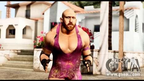 WWE Ryback for GTA San Andreas
