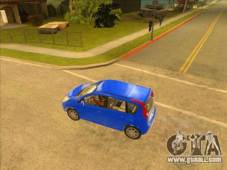Nissan Note v0.5 Beta for GTA San Andreas left view