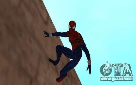 Sensational Spider-Man Ben Reilly by Robinosuke for GTA San Andreas second screenshot