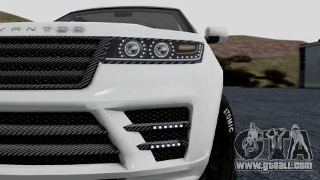 GTA 5 Gallivanter Baller LE LWB Arm IVF for GTA San Andreas back view