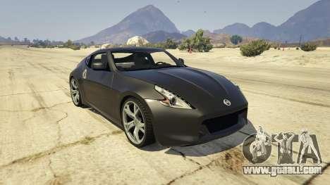 Nissan 370z v2.0 for GTA 5