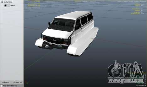 GTA 5 Police Transporter Tracked right side view